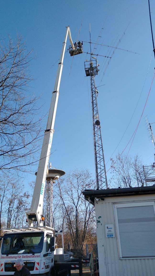 Die große Antennenreparatur